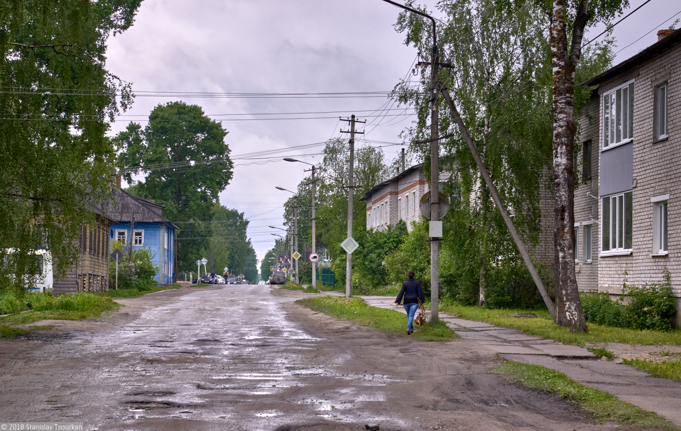 Каргополь, Архангельская область, Россия, улица Ленина