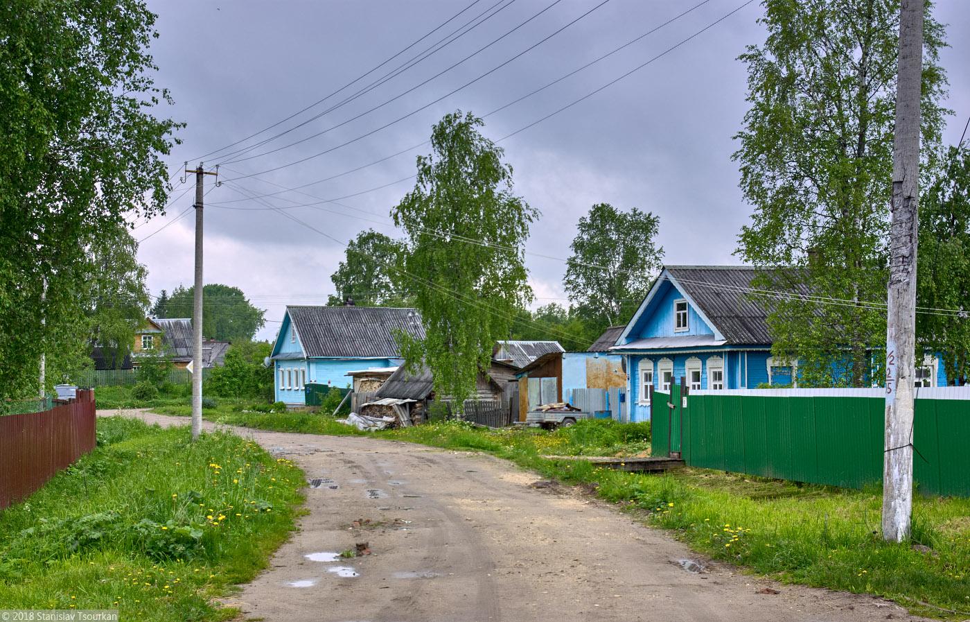 Каргополь, Архангельская область, Россия, Заводская улица