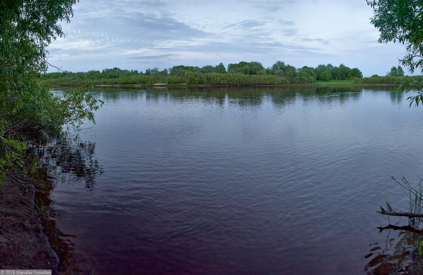 Пудож, Карелия, республика Карелия, парк Горького, река Водла