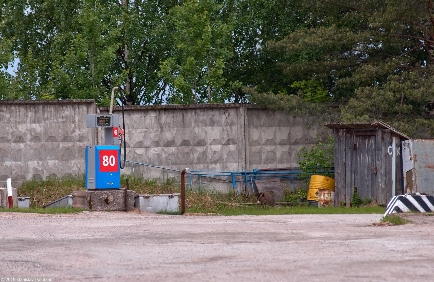 Пудож, Карелия, республика Карелия, заправка, АИ-80, 80-й бензин