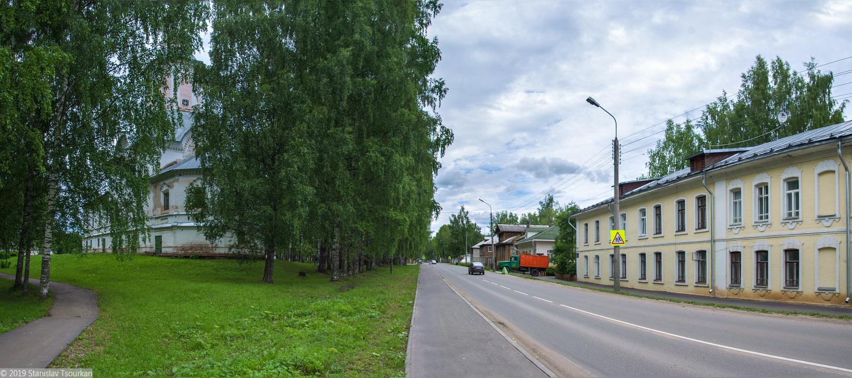 Вологодская область, Вологодчина, Великий устюг, Русский север, Комсомольский сквер, Сретенская церковь