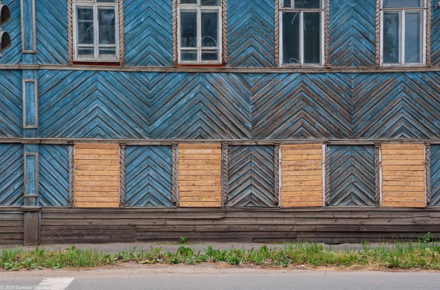Вологодская область, Вологодчина, Великий устюг, Русский север, Красная улица, заколоченные окна