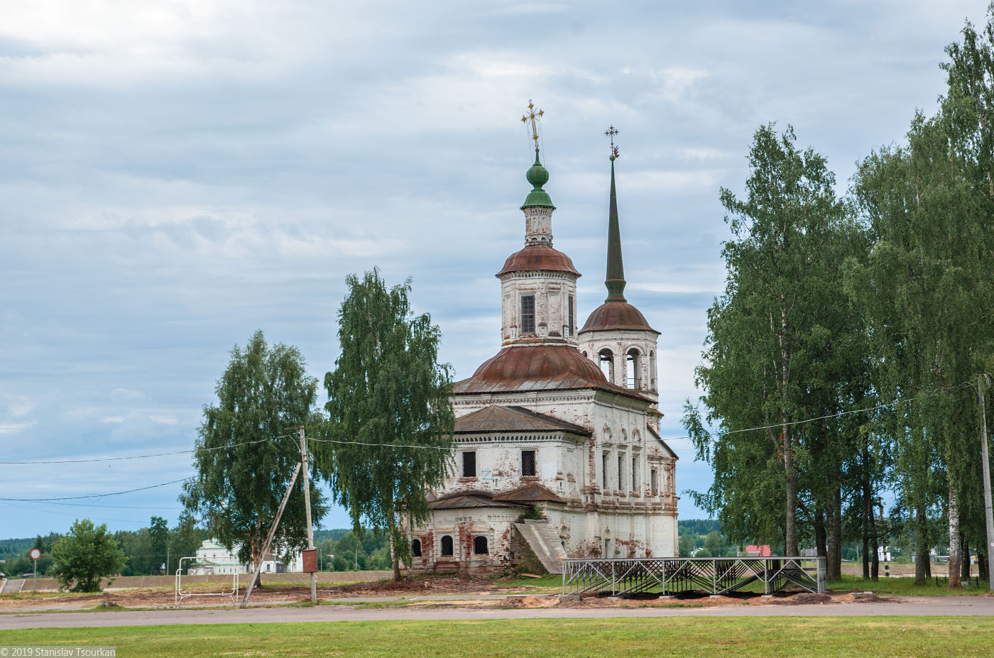 Вологодская область, Вологодчина, Великий устюг, Русский север, Ильинская церковь