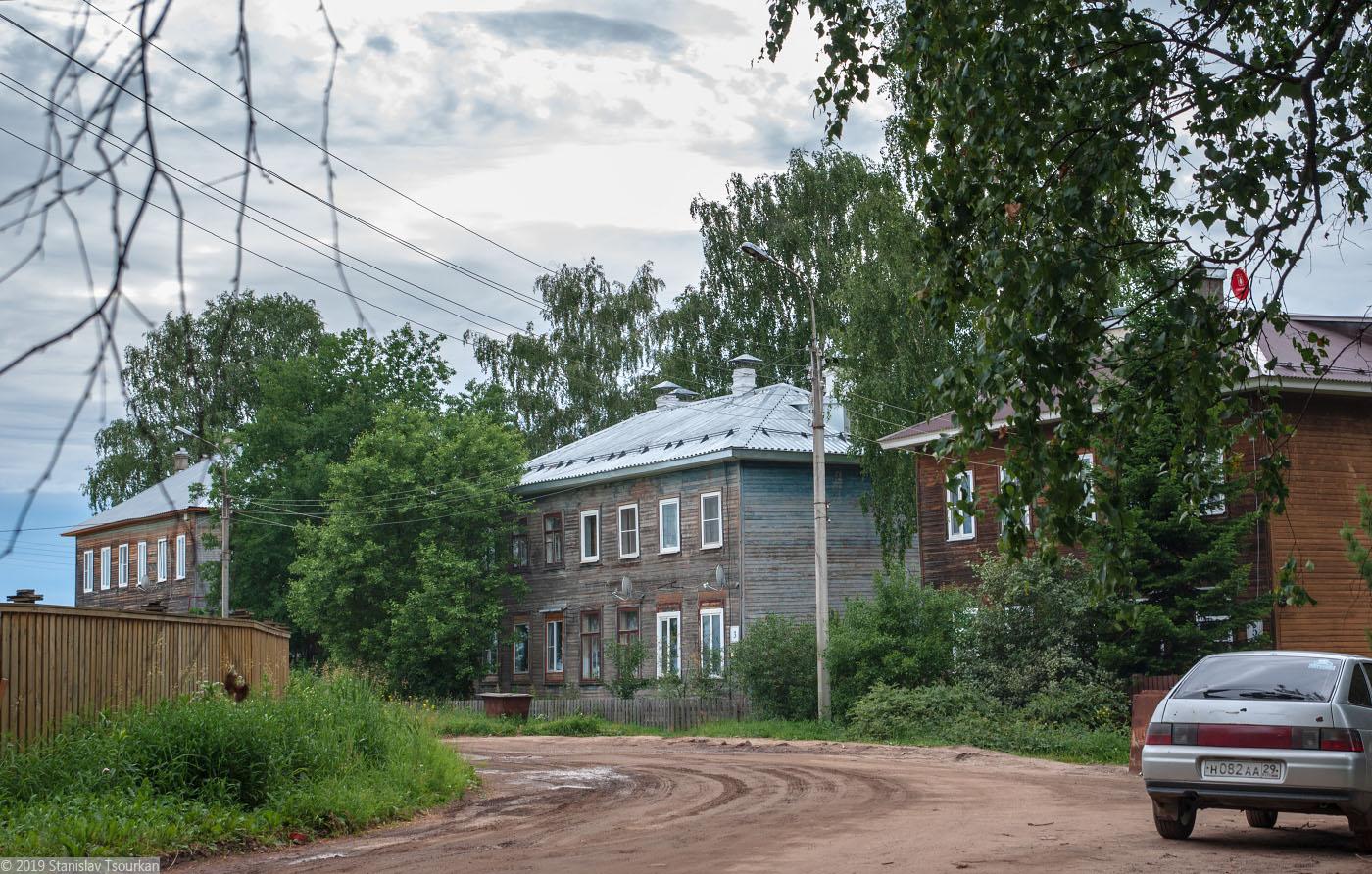 Вологодская область, Вологодчина, Великий устюг, Русский север, улица Пушкина