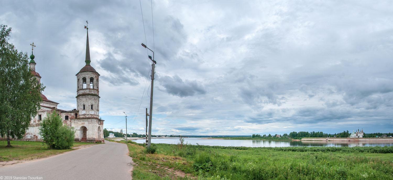 Вологодская область, Вологодчина, Великий устюг, Русский север, Ильинская церковь, Набережная улица