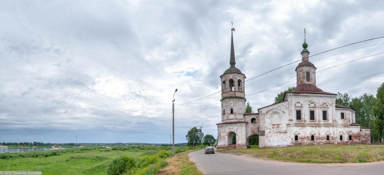 Вологодская область, Вологодчина, Великий устюг, Русский север, Набережная улица, Ильинская церковь
