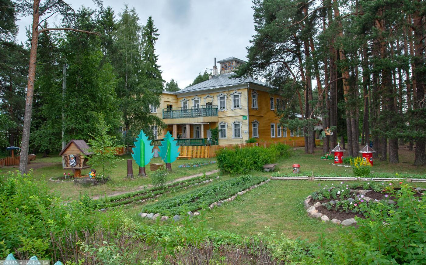 Вологодская область, Вологодчина, Великий устюг, Русский север, Великоустюгский детский противотуберкулёзный санаторий