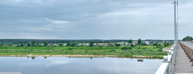 Вологодская область, Вологодчина, Великий устюг, Русский север, Сухона, мост, Онбово