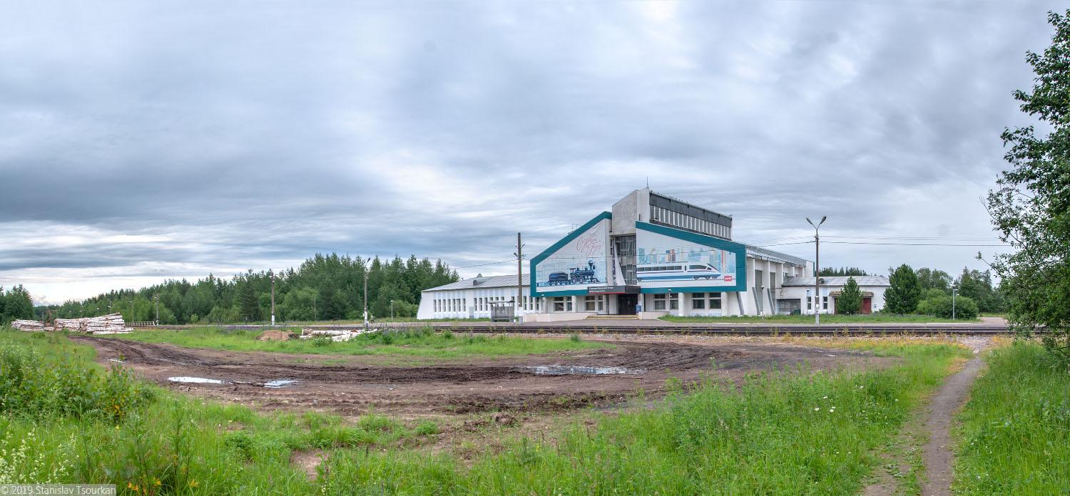 Вологодская область, Вологодчина, Великий устюг, Русский север, станция Великий Устюг, железная дорога