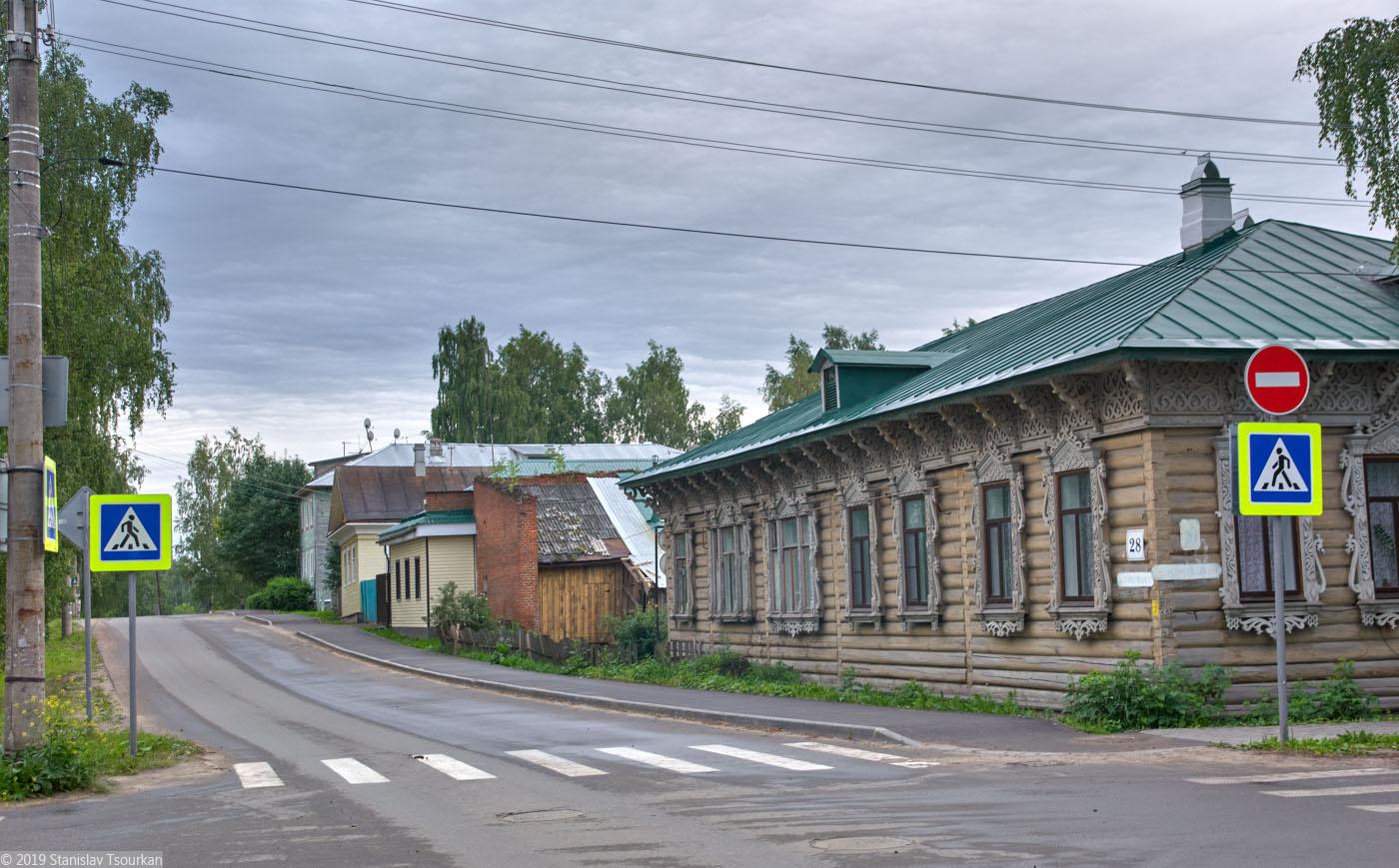 Вологодская область, Вологодчина, Великий устюг, Русский север, улица Павла Покровского