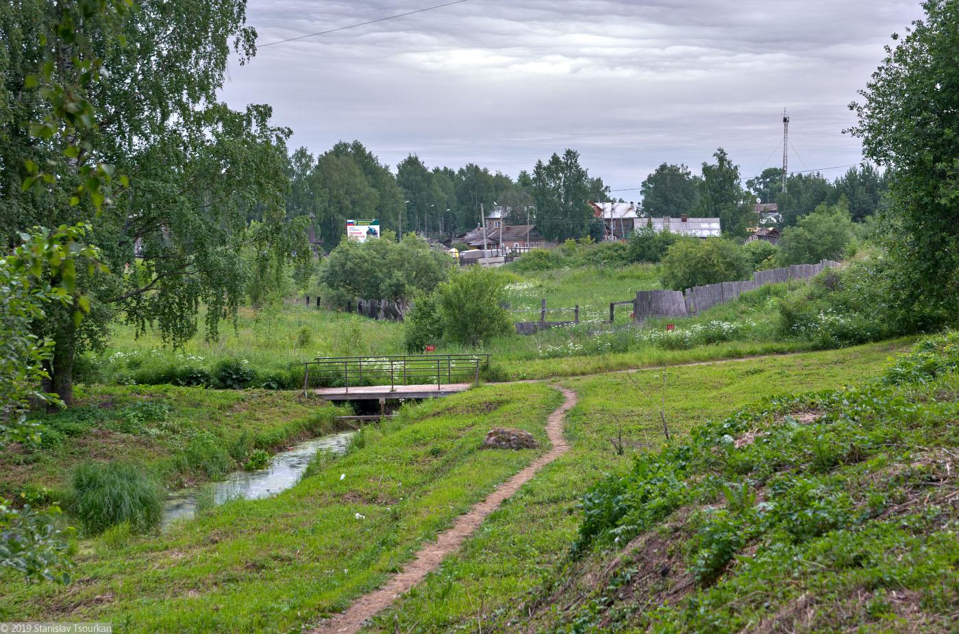 Вологодская область, Вологодчина, Великий устюг, Русский север, сквер Мира