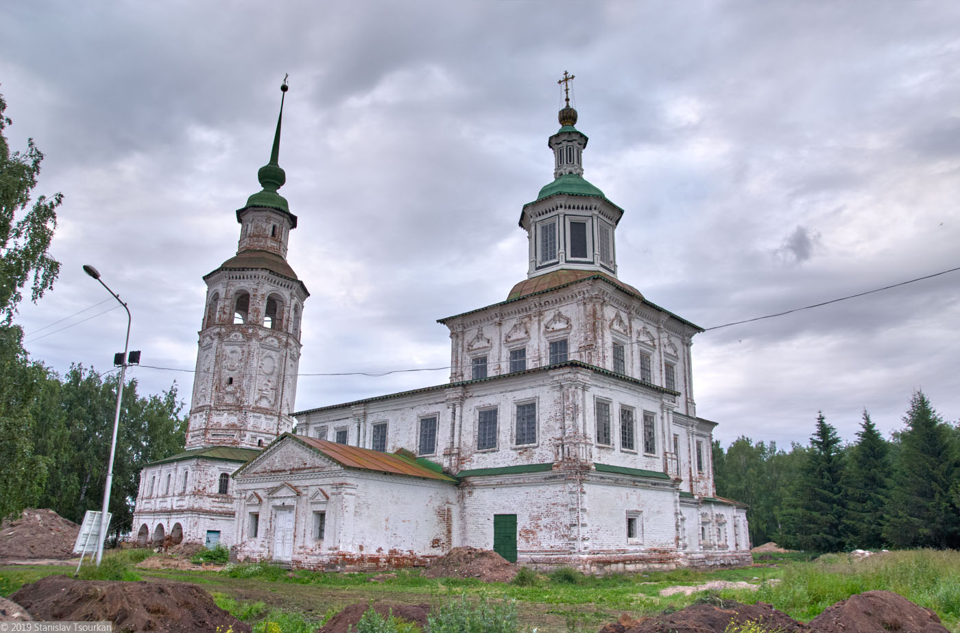 Вологодская область, Вологодчина, Великий устюг, Русский север, Николо-Гостунская церковь