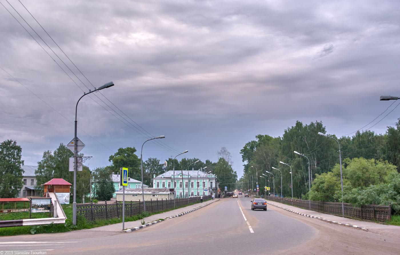 Вологодская область, Вологодчина, Великий устюг, Русский север, Советский проспект, Земляной мост