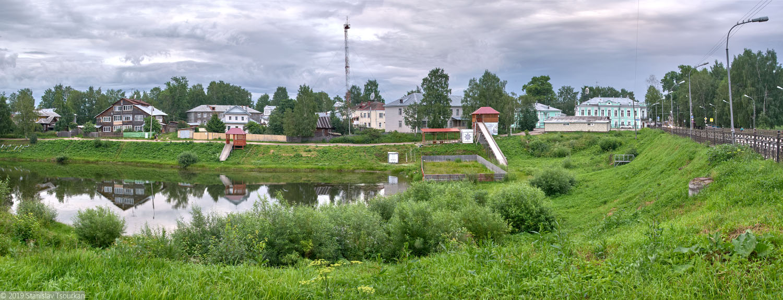 Вологодская область, Вологодчина, Великий устюг, Русский север, озеро Смольниковское, земляной мост