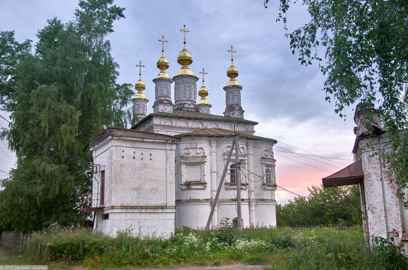 Вологодская область, Вологодчина, Великий устюг, Русский север, церковь Жён Мироносиц
