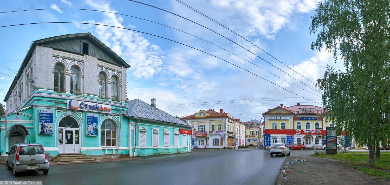 Вологодская область, Вологодчина, Великий Устюг, Русский север, Комсомольская площадь