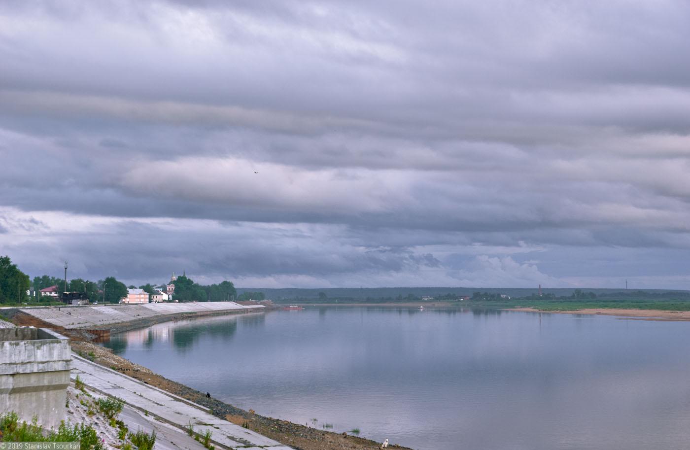 Вологодская область, Вологодчина, Великий Устюг, Русский север, Сухона, набережная