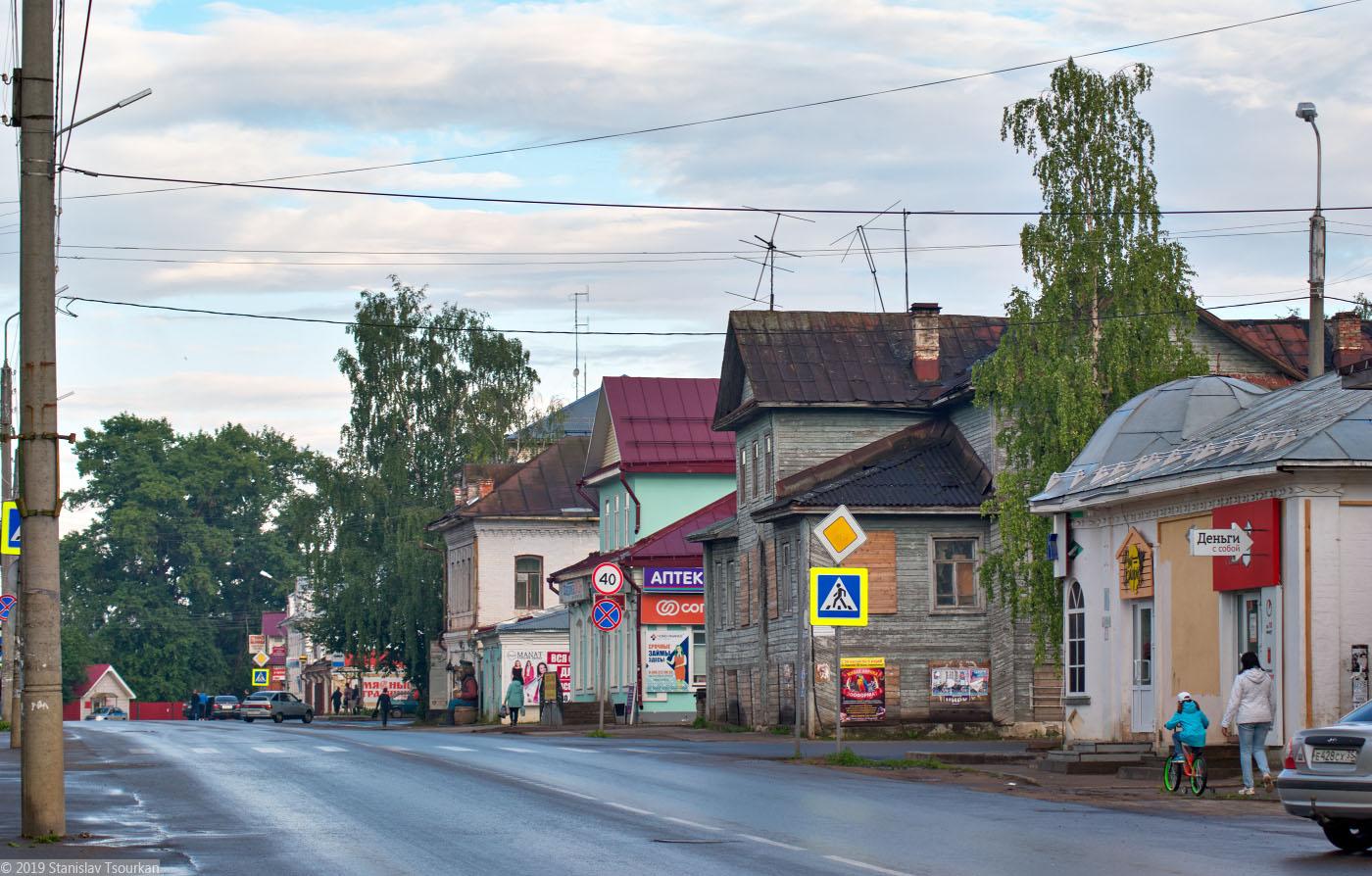 Вологодская область, Вологодчина, Великий Устюг, Русский север, Красная улица, Советский проспект