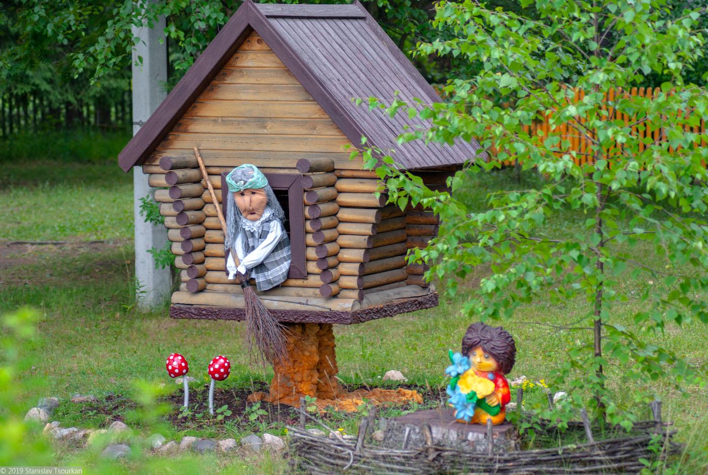 Вологодская область, Вологодчина, Великий устюг, Русский север, Великоустюгский детский противотуберкулёзный санаторий, баба Яга, домовёнок Кузя