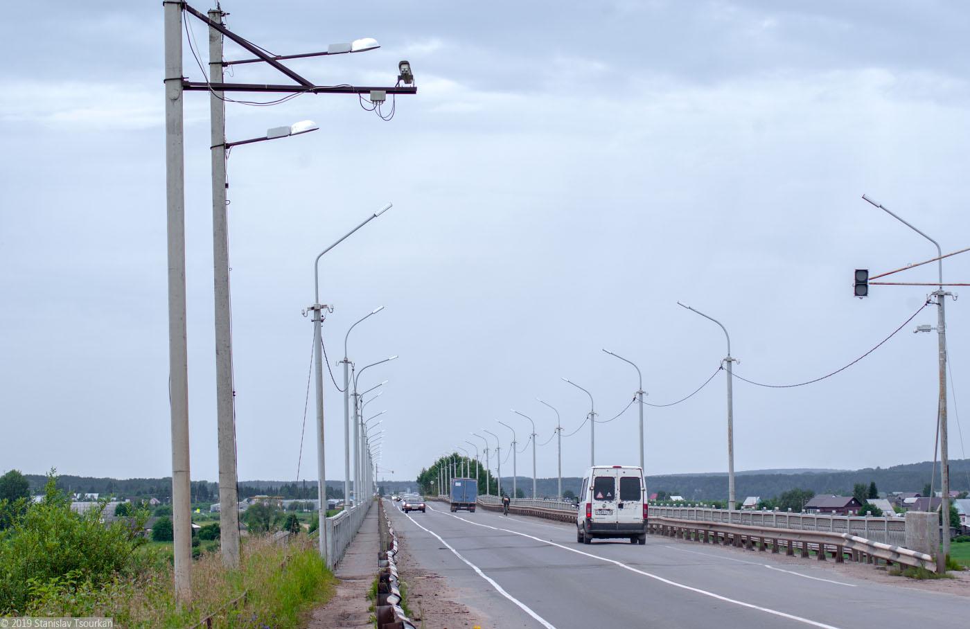 Вологодская область, Вологодчина, Великий устюг, Русский север, Сухона, мост через Сухону