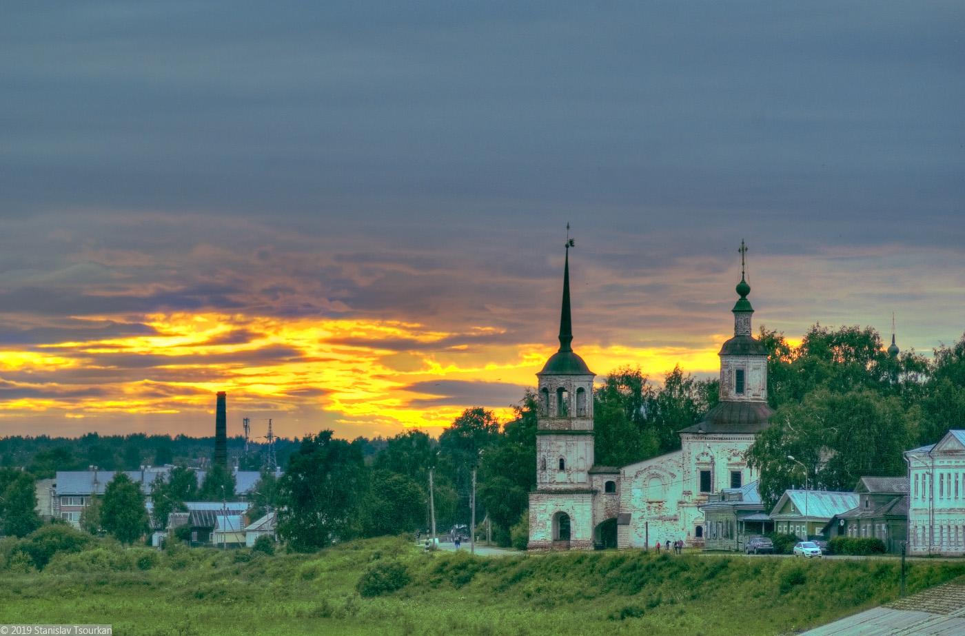 Вологодская область, Вологодчина, Великий устюг, Русский север, набережная