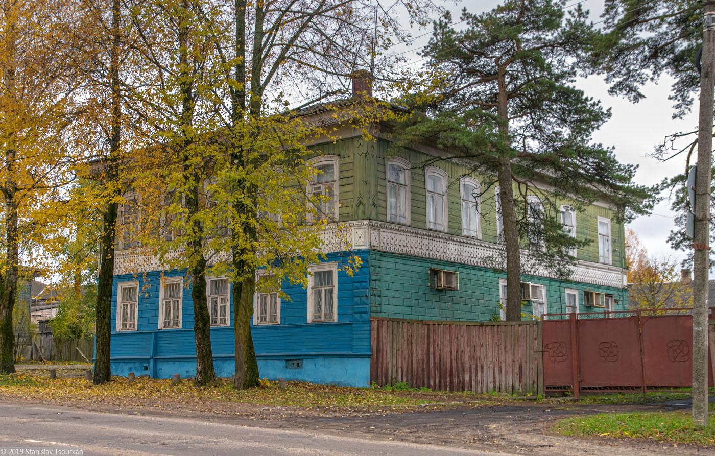Красный Холм, Октябрьская ул., особняк, дом Ефимова