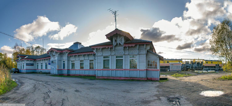 ж/д вокзал, станция Красный холм, вокзал, деревянный вокзал, Красный холм, привокзальная площадь