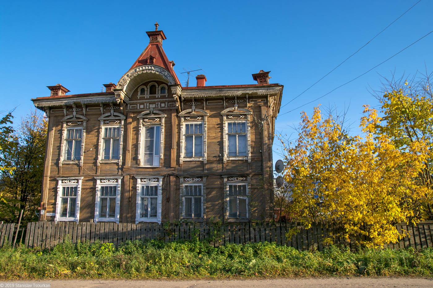 Красный Холм, переулок Карла Маркса, дом Баруздина-Хильтова