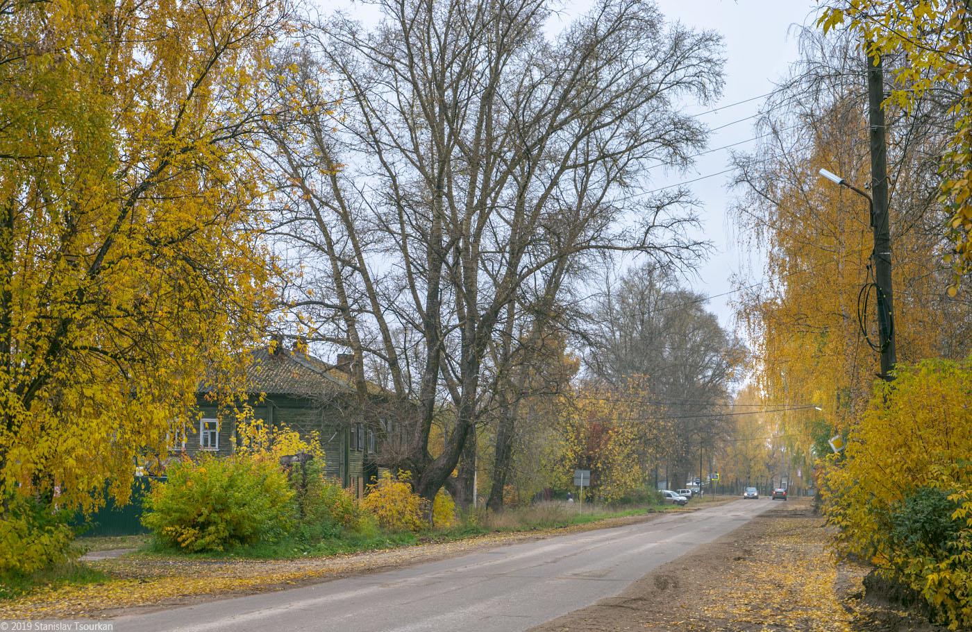 Весьегонск, Тверская область, улица Карла Маркса, домики