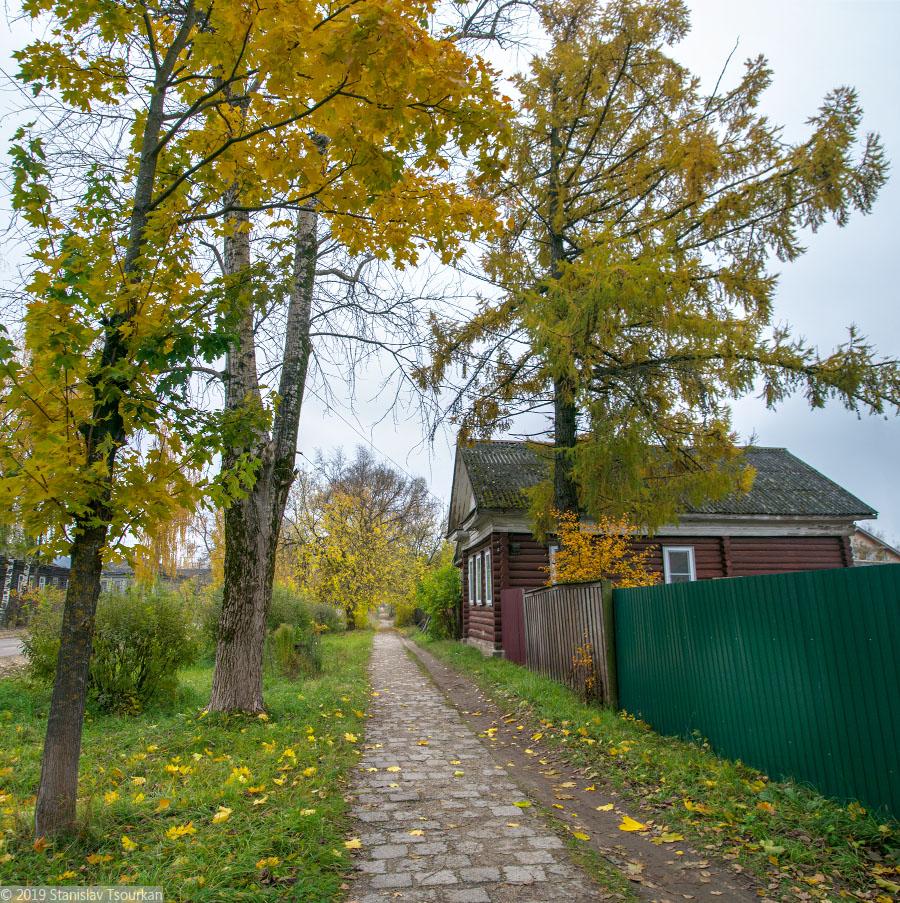 Весьегонск, Тверская область, улица Маркса, тротуар