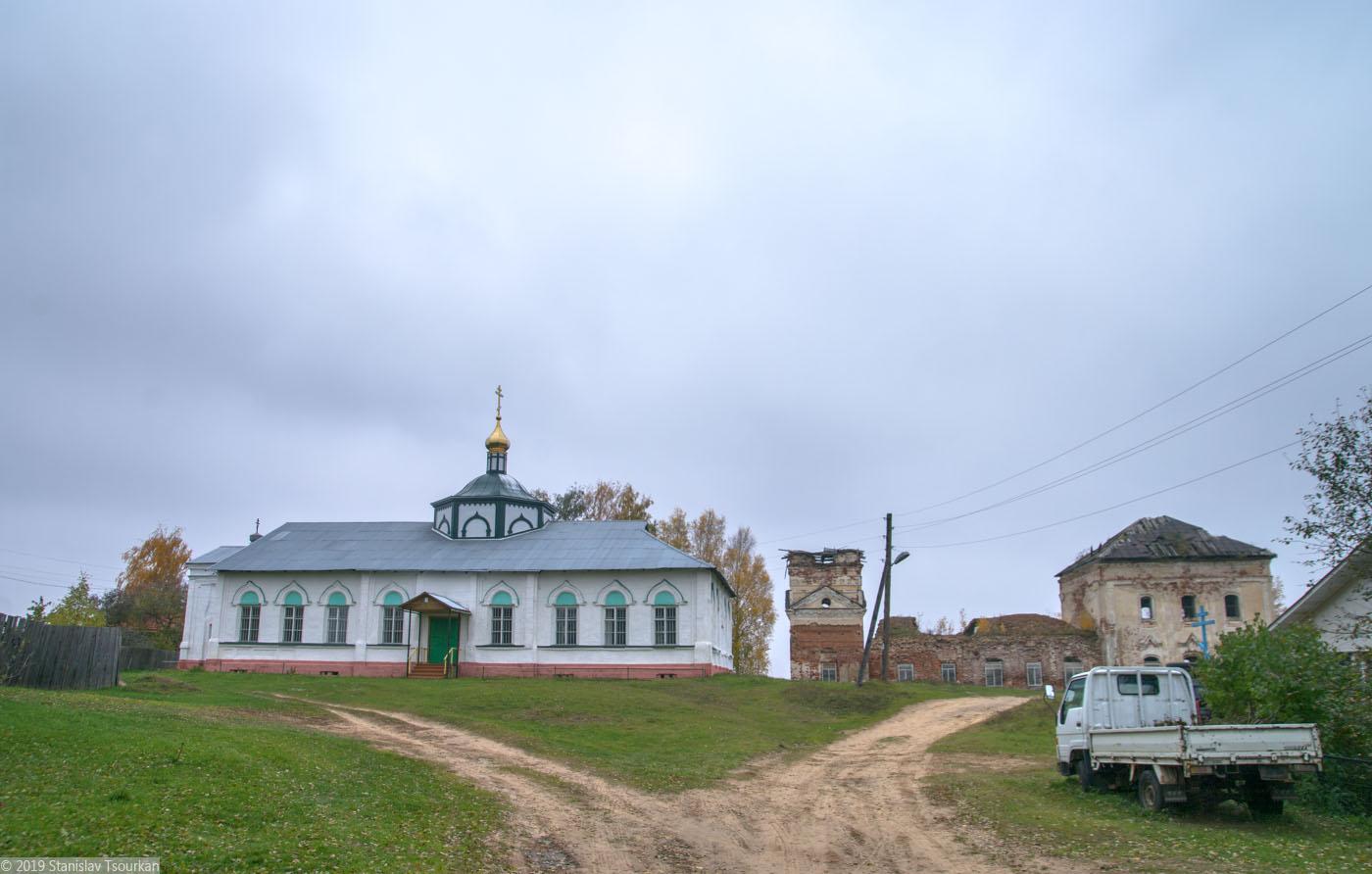 Весьегонск, Тверская область,  Казанская церковь, Троицкая церковь, старый Весьегонск