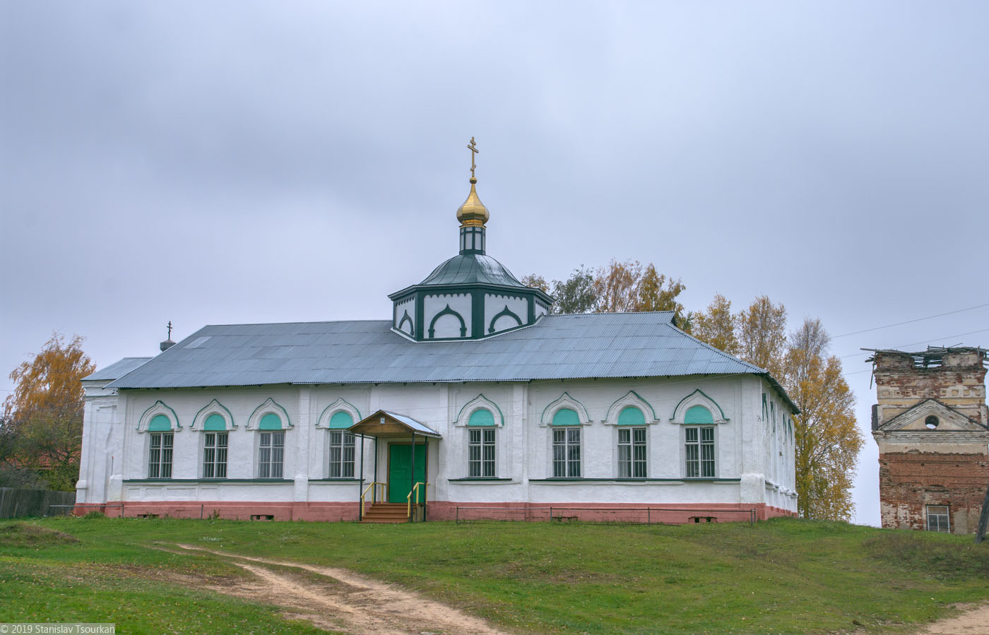 Весьегонск, Тверская область, Троицкая церковь, 1868