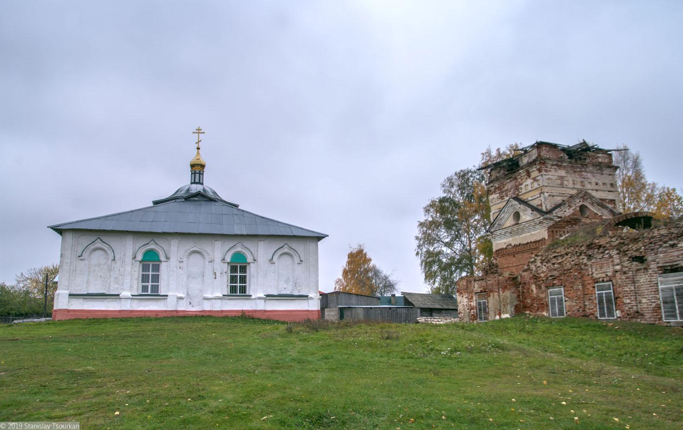 Весьегонск, Тверская область, Троицкая церковь, Казанская церковь