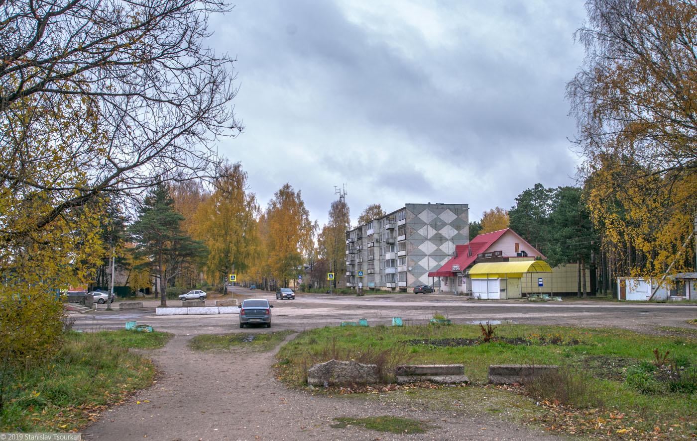 Весьегонск, Тверская область, ж/д, железная дорога, станция Весьегонск, выход в город