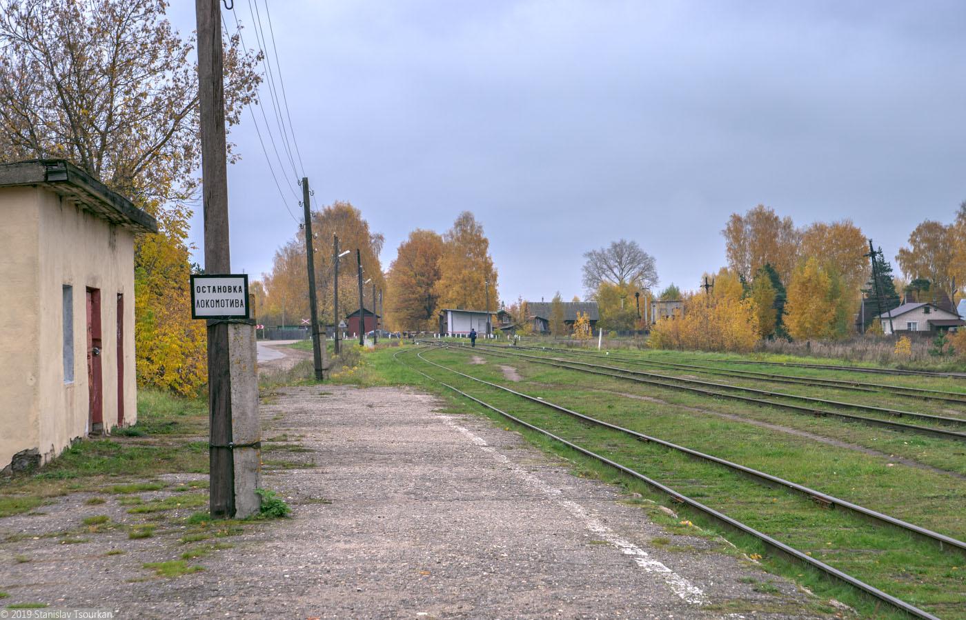 Весьегонск, Тверская область, ж/д, железная дорога, станция Весьегонск, остановка локомотива