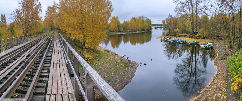 Весьегонск, Тверская область, Чухарный ручей, лодочная станция