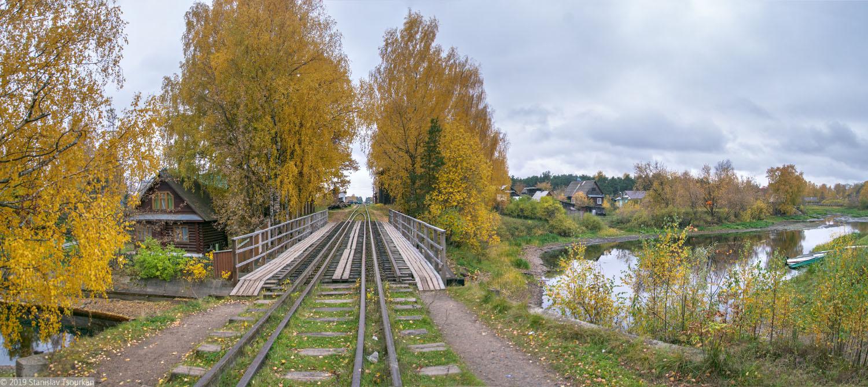 Весьегонск, Тверская область, тупик, железная дорога, пути, Чухарный ручей