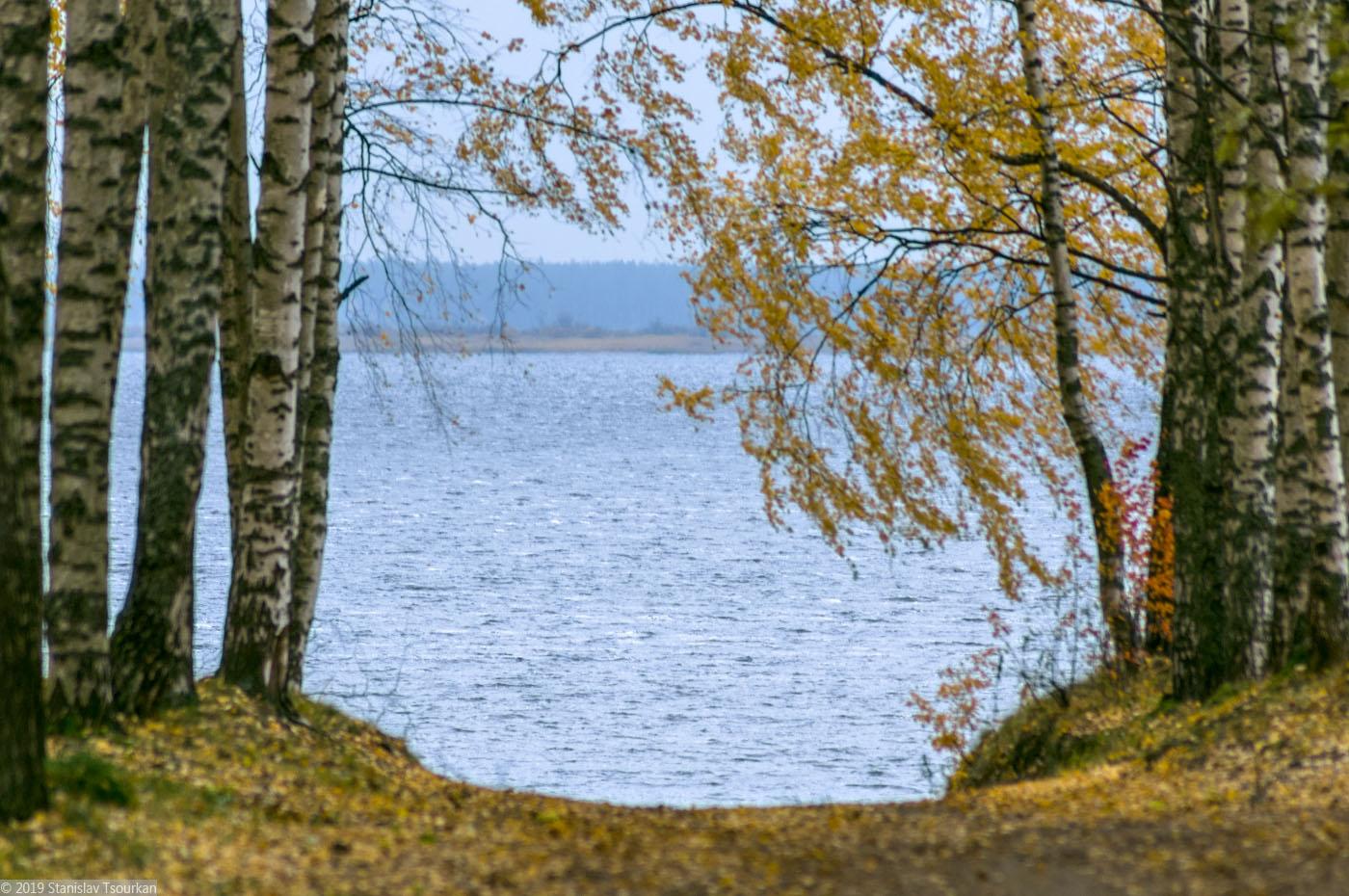 Весьегонск, Приморский парк, Рыбинское море, Рыбинское водохранилище