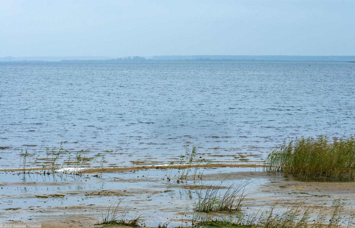 Весьегонск, Приморский парк, Рыбинское море, Рыбинское водохранилище, море