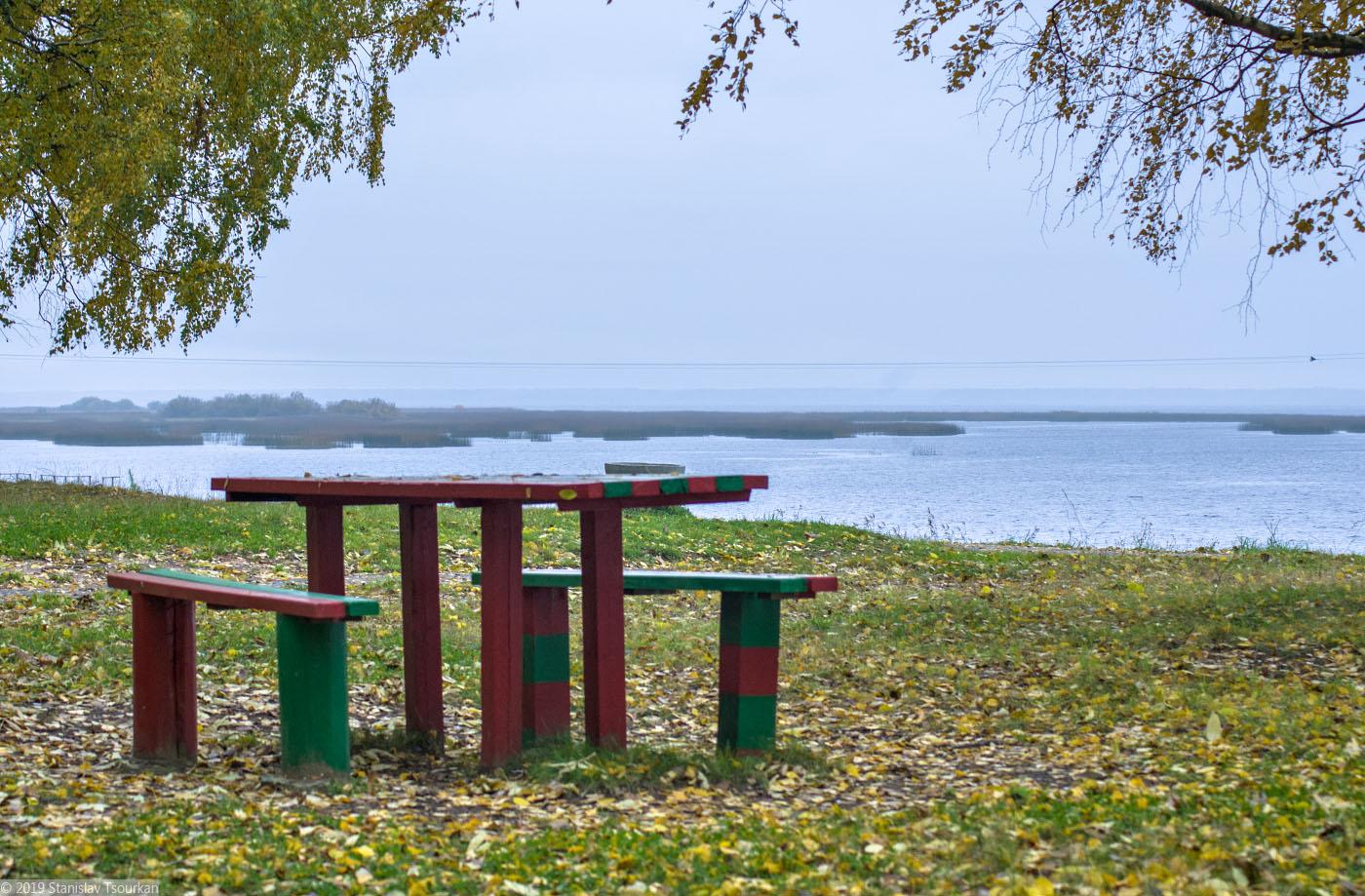 Весьегонск, Приморский парк, Рыбинское море, Рыбинское водохранилище, пограничная окраска