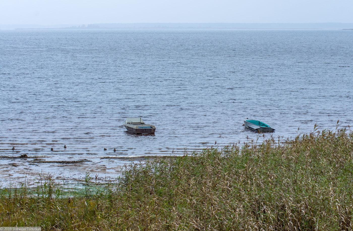 Весьегонск, Приморский парк, Рыбинское море, Рыбинское водохранилище, море, лодка