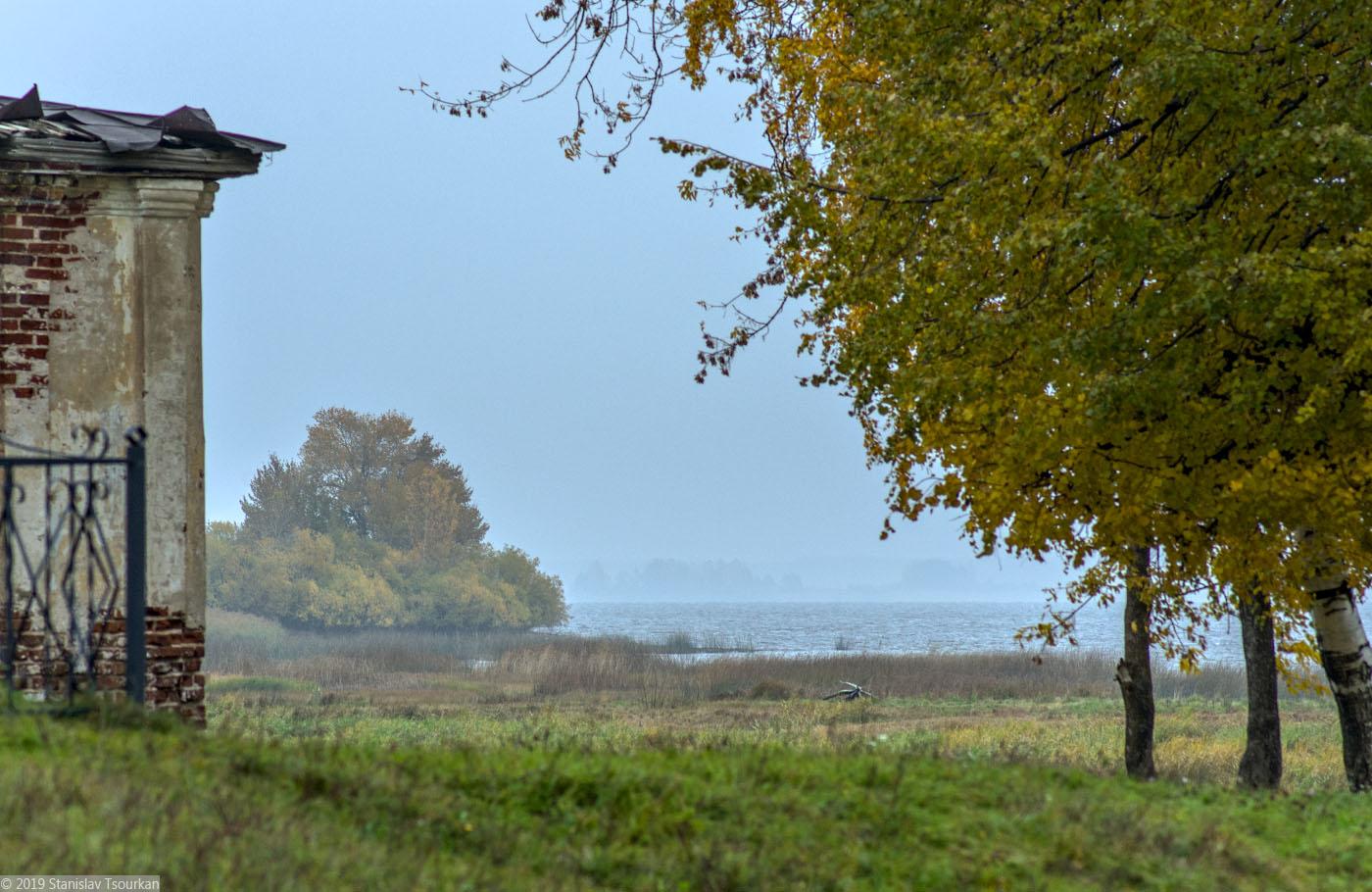Весьегонск, Тверская область, Рыбинское водохранилище, Казанская церковь