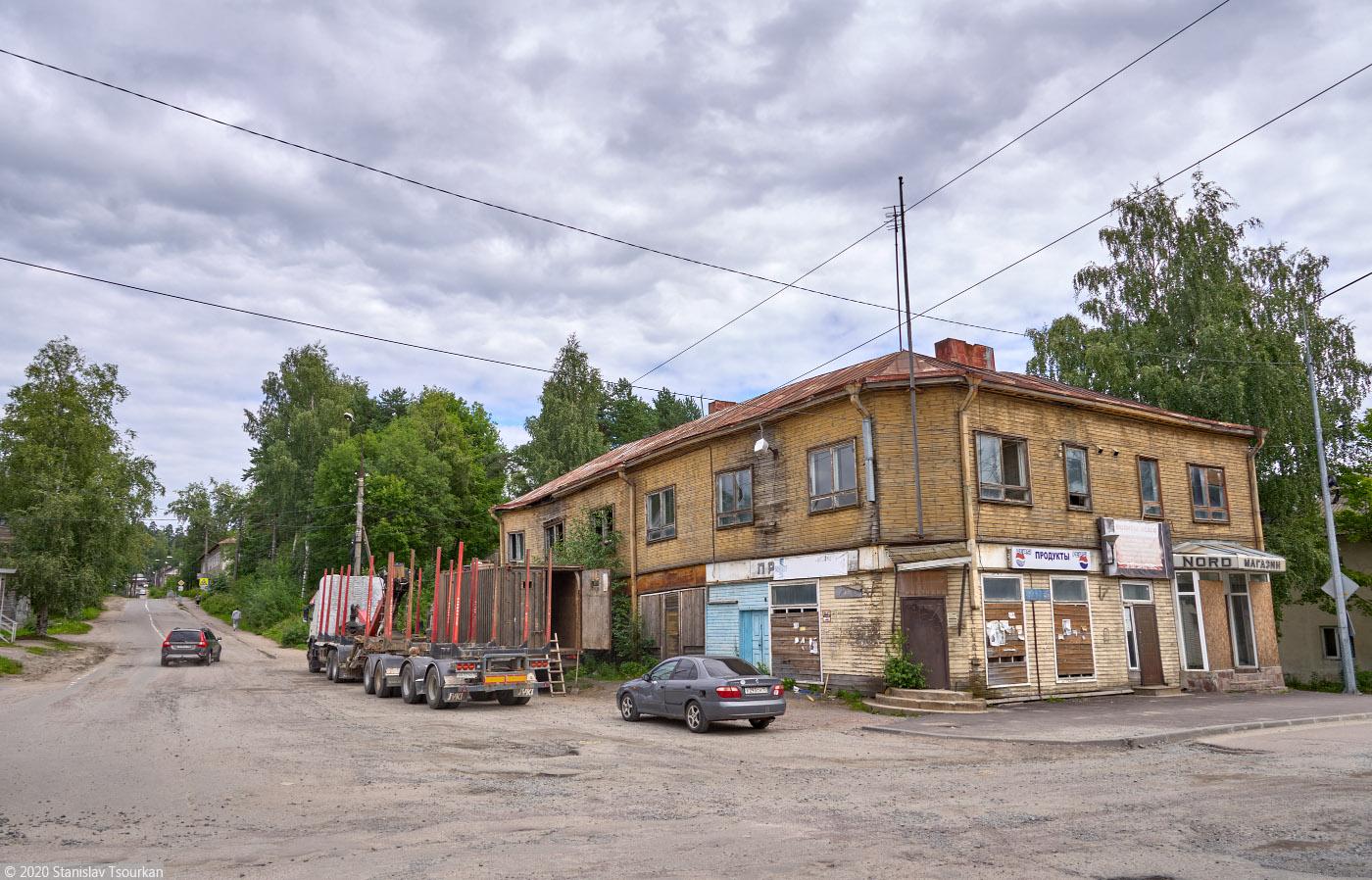 Лахденпохья, Карелия, республика Карелия, улица Бусалова.