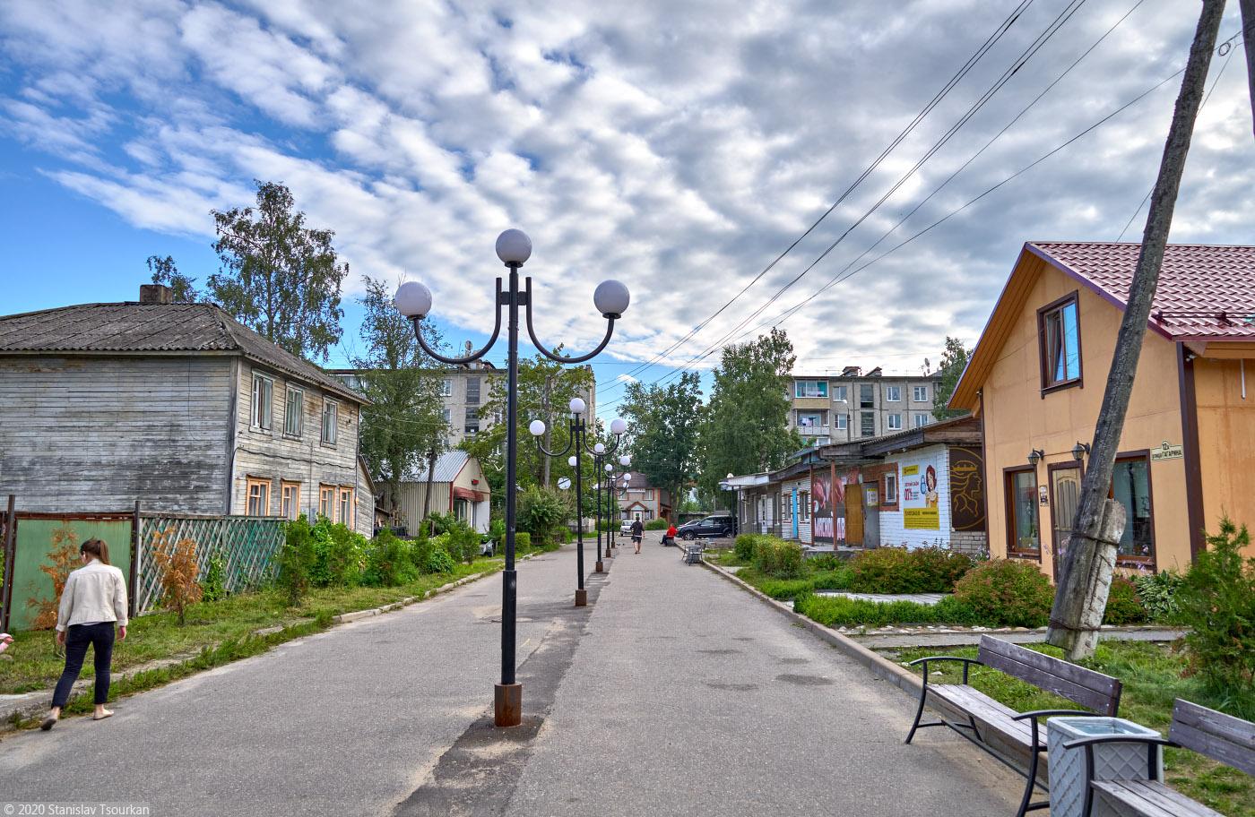 Лахденпохья, Карелия, республика Карелия, улица Гагарина