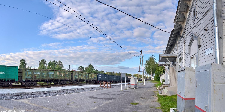 Лахденпохья, Карелия, республика Карелия, Яккима, станция Яккима, железная дорога