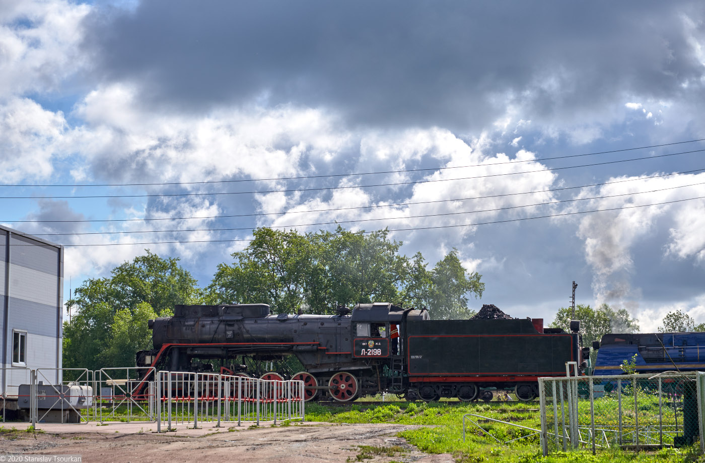 Карелия, республика Карелия, Сортавала, russia, karjala, sortavala, станция сортавала, железная дорога, паровоз, Л-2198