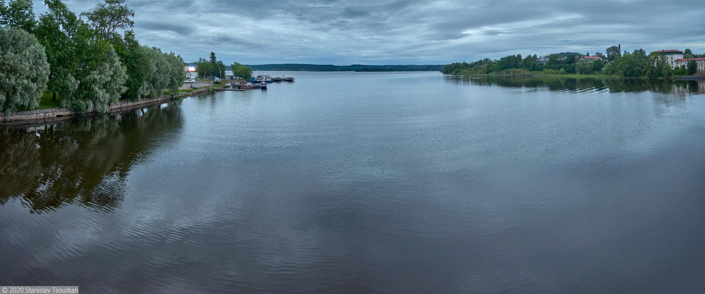 Сортавала, Карелия, республика Карелия, вечер, вечер в городе, озеро Ляппяярви, Ладожское озеро