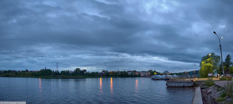 Сортавала, Карелия, республика Карелия, вечер, вечер в городе, Ладожское озеро, Ладога, Ляппяярви
