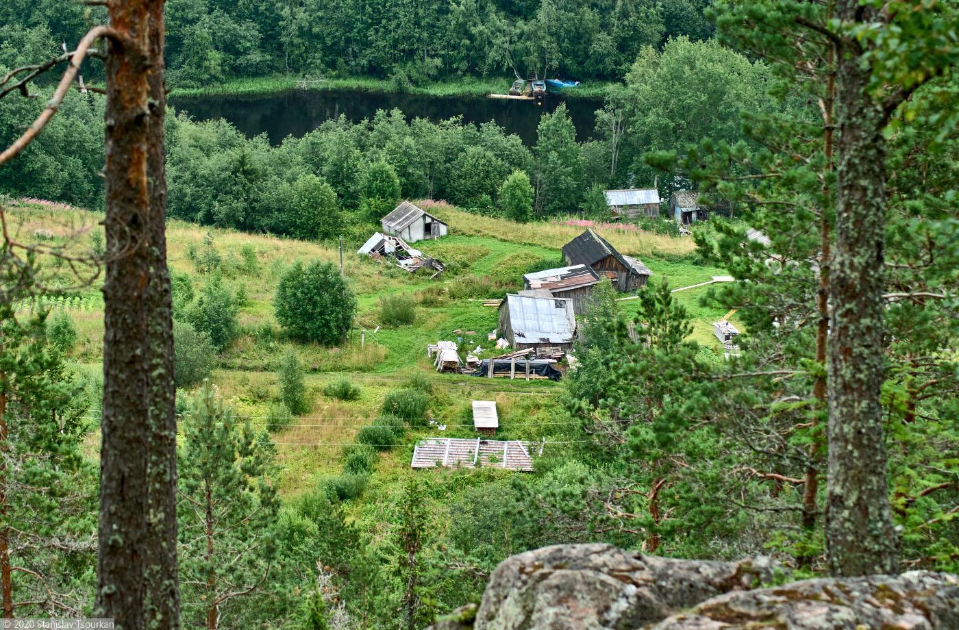 Карелия, республика Карелия, гора, Хийденвуори, пейзажи, природа, Янисйоки