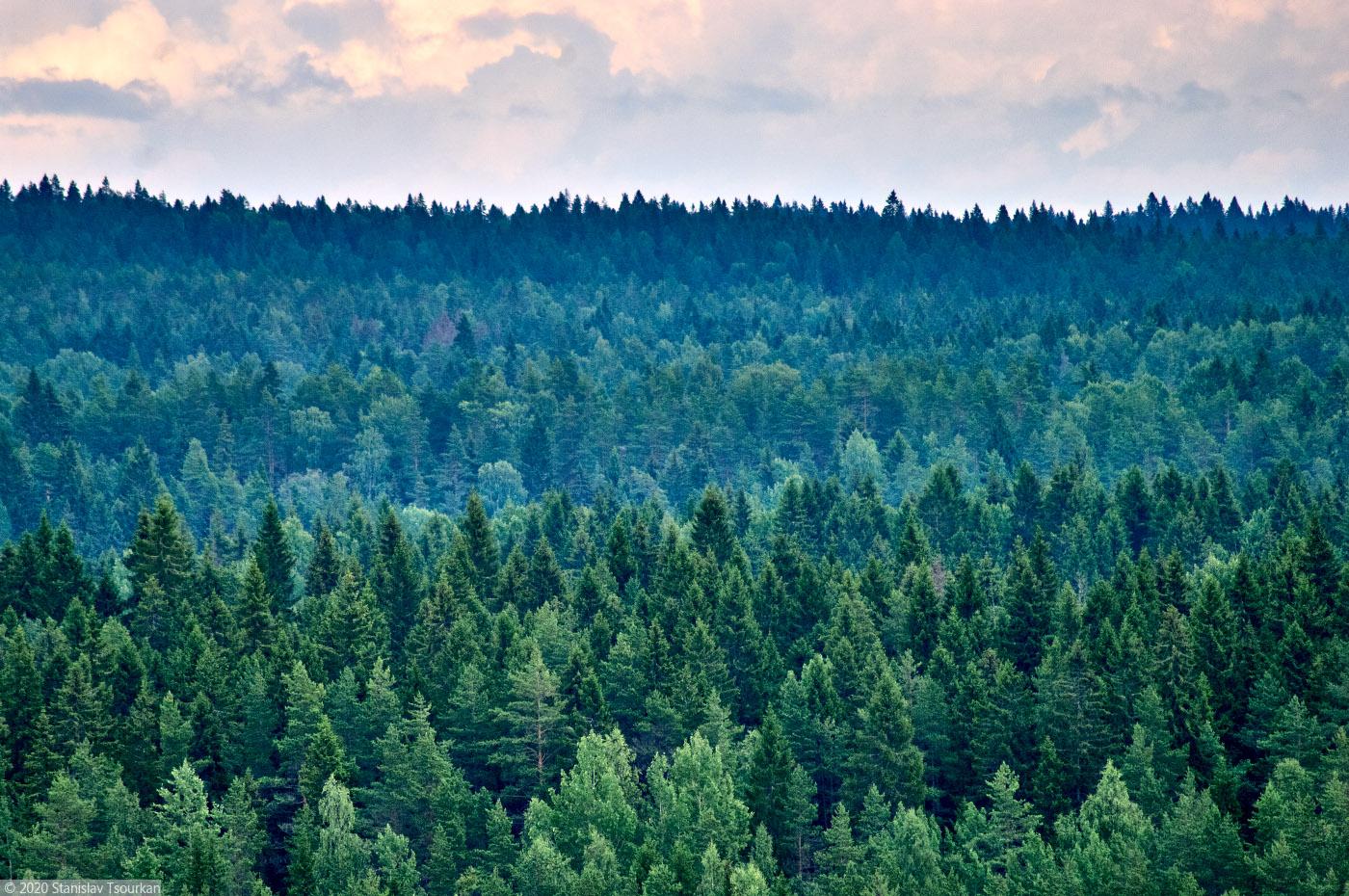 Карелия, республика Карелия, гора, Хийденвуори, пейзажи, природа, Ладожское озеро